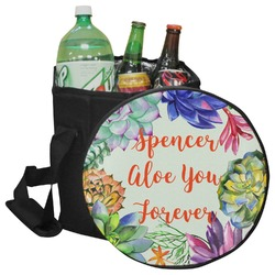 Succulents Collapsible Cooler & Seat (Personalized)