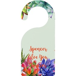 Succulents Door Hanger (Personalized)