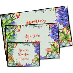Succulents Door Mat (Personalized)