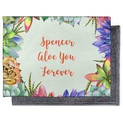 Succulents Microfiber Screen Cleaner (Personalized)