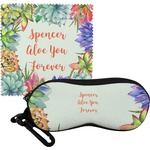 Succulents Eyeglass Case & Cloth (Personalized)