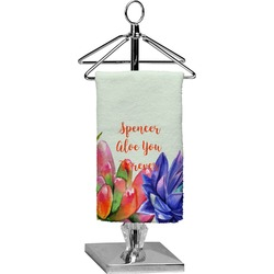 Succulents Finger Tip Towel - Full Print (Personalized)