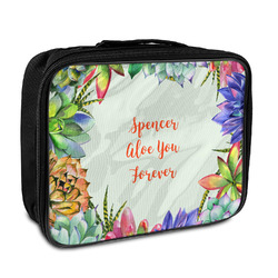 Succulents Insulated Lunch Bag (Personalized)