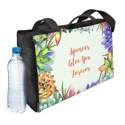 Succulents Ladies Workout Bag (Personalized)