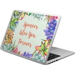 Succulents Laptop Skin - Custom Sized (Personalized)