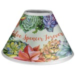 Succulents Coolie Lamp Shade (Personalized)