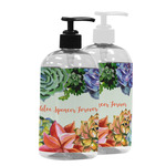 Succulents Plastic Soap / Lotion Dispenser (Personalized)