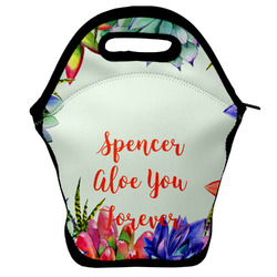 Succulents Lunch Bag (Personalized)