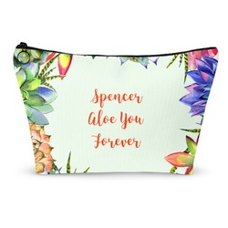 Succulents Makeup Bags (Personalized)