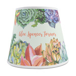 Succulents Empire Lamp Shade (Personalized)