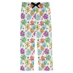 Succulents Mens Pajama Pants (Personalized)