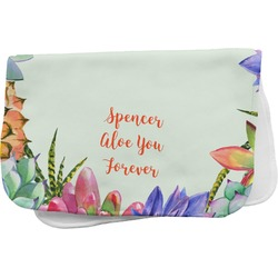 Succulents Burp Cloth (Personalized)