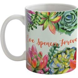 Succulents Coffee Mug (Personalized)