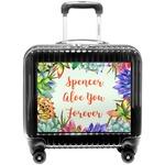Succulents Pilot / Flight Suitcase (Personalized)