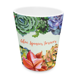 Succulents Plastic Tumbler 6oz (Personalized)