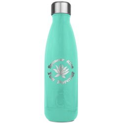 Succulents RTIC Bottle - Teal (Personalized)