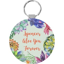 Succulents Keychains - FRP (Personalized)