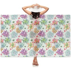 Succulents Sheer Sarong (Personalized)
