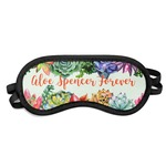 Succulents Sleeping Eye Mask (Personalized)