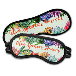 Succulents Sleeping Eye Masks (Personalized)
