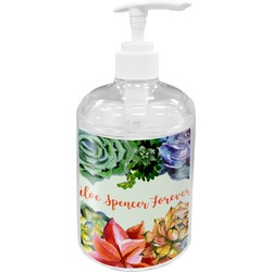 Succulents Soap / Lotion Dispenser (Personalized)