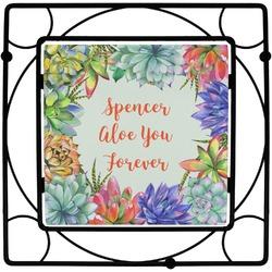 Succulents Trivet (Personalized)