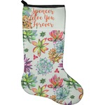 Succulents Christmas Stocking - Neoprene (Personalized)