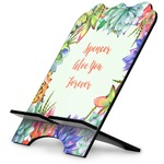 Succulents Stylized Tablet Stand (Personalized)