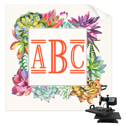 Succulents Sublimation Transfer (Personalized)