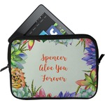 Succulents Tablet Case / Sleeve (Personalized)