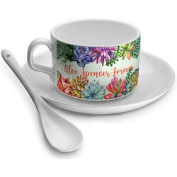 Succulents Tea Cups (Personalized)