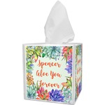 Succulents Tissue Box Cover (Personalized)
