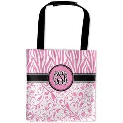 Zebra & Floral Auto Back Seat Organizer Bag (Personalized)