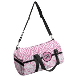 Zebra & Floral Duffel Bag - Multiple Sizes (Personalized)
