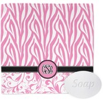 Zebra & Floral Wash Cloth (Personalized)