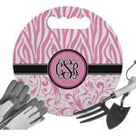 Zebra & Floral Gardening Knee Cushion (Personalized)