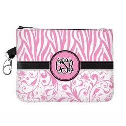 Zebra & Floral Golf Accessories Bag (Personalized)