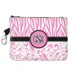 Zebra & Floral Golf Accessories Bag (Personalized)