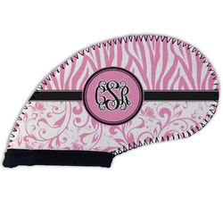 Zebra & Floral Golf Club Cover (Personalized)