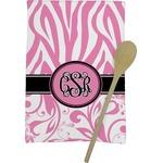 Zebra & Floral Kitchen Towel - Full Print (Personalized)