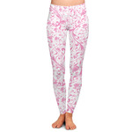 Zebra & Floral Ladies Leggings (Personalized)