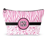 Zebra & Floral Makeup Bags (Personalized)