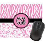 Zebra & Floral Mouse Pads (Personalized)