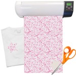 Zebra & Floral Heat Transfer Vinyl Sheet (12