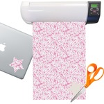 Zebra & Floral Sticker Vinyl Sheet (Permanent)