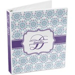 Mandala Floral 3-Ring Binder (Personalized)