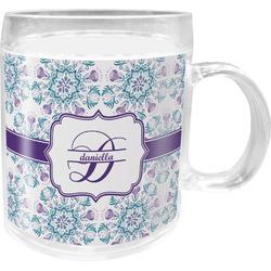 Mandala Floral Acrylic Kids Mug (Personalized)