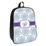 Mandala Floral Kids Backpack (Personalized)