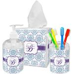 Mandala Floral Bathroom Accessories Set (Personalized)