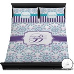 Mandala Floral Duvet Cover Set (Personalized)